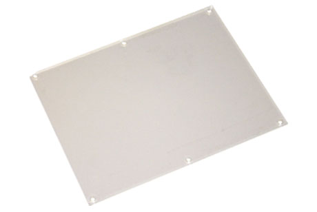 LCD Plastic Screen Cover, Clear, 7""